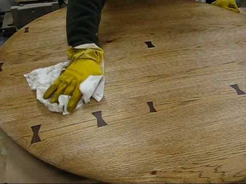 Woodworking how to repair a kitchen table top with a Dutchman