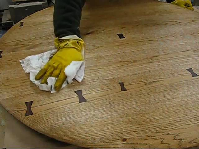 Woodworking How To Repair A Kitchen Table Top With Dutchman Wood Joint By Jon Peters You - How To Fix A Split Table Top