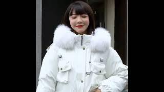 Женская короткая куртка с капюшоном greller теплая толстая парка в стиле милитари воротником