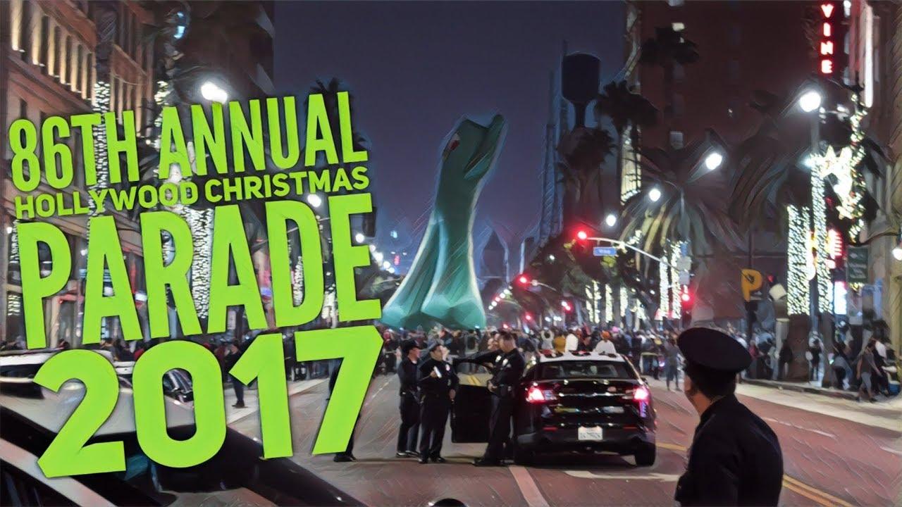 86th annual hollywood christmas parade makes its way through tinseltown 2017 dori chronicles vlog
