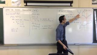 Using the Second Derivative (2 of 5: Turning Point vs Stationary Point analogy)
