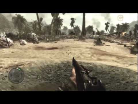 World at War Ray Gun Easter Egg on Little Resistance Campaign Mission
