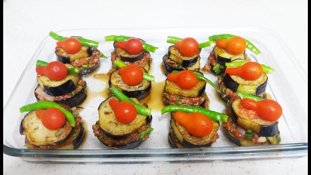 Püreli Patlıcan Musakka Tarifi