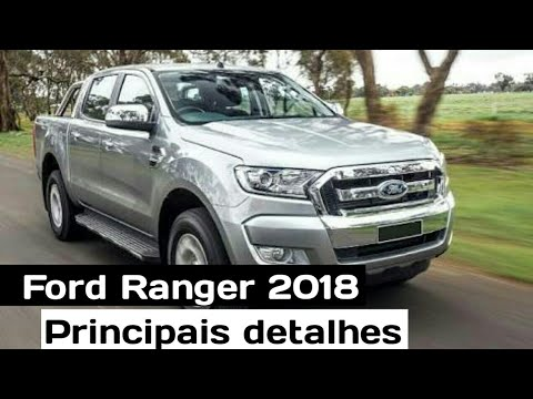 nova ford ranger 2018 principais detalhes top sounds. Black Bedroom Furniture Sets. Home Design Ideas