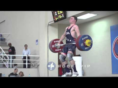 Ian Wilson (105) - 173kg Snatch American Record
