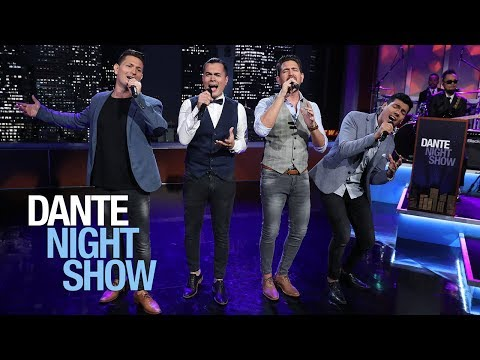 'Amanecer'... gran armonía de voces al cantar 'Crazy Little Thing Called Love' - Dante Night Show