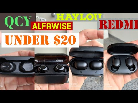 haylou-gt1,-qcy-t1c,-alfawise-q32,-are-all-good-cheap-truly-wireless-headphones-under-$20