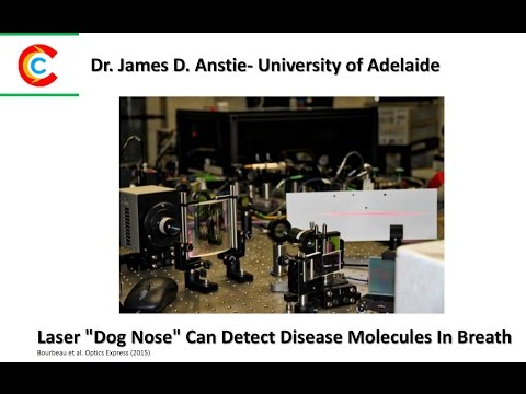"""Laser """"Dog Nose"""" Can Detect Disease Molecules In Breath"""