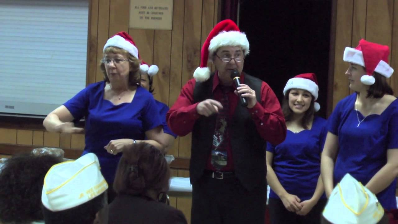 crabs for christmas in sign language