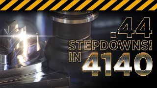 DEEPER Cuts in 4140 Steel With the Kennametal Mill 4-15   CNC Machining