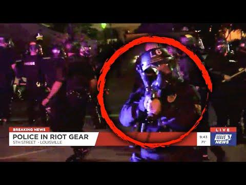 Louisville Cops Appear