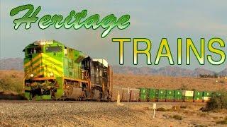 TRAINS on Parade!  NS Heritage units visit SoCal!