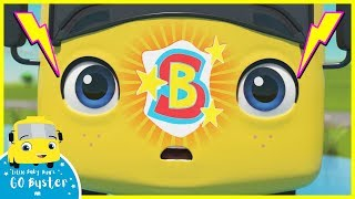 Super Hero Buster  Go Buster  Baby Cartoons  Kids Videos  ABCs and 123s