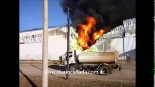incendio Planta Industrial