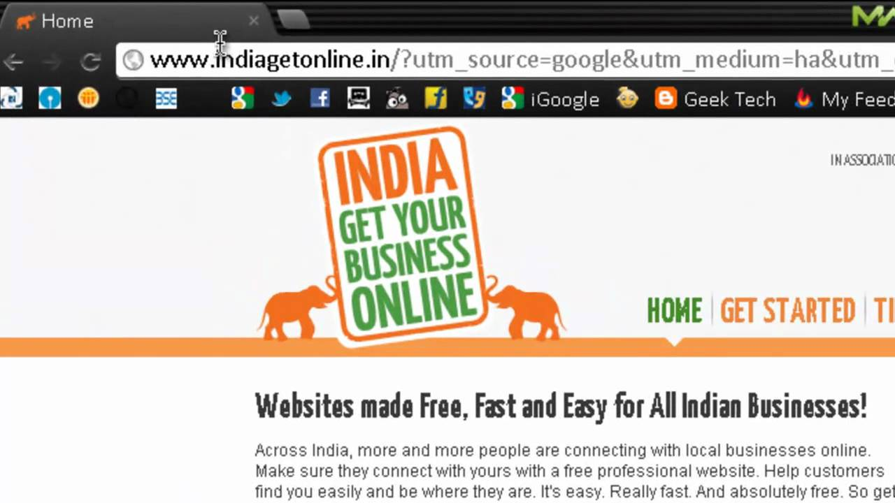 how to create a free website domain name