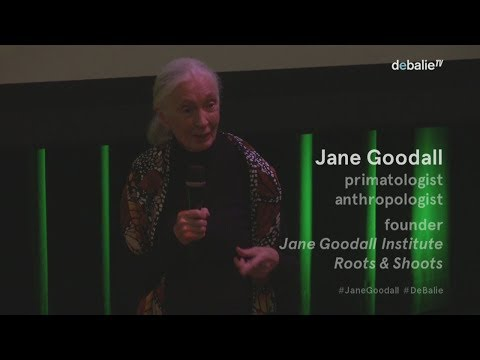 #1. Jane Goodall introduces 'Jane' the film - Jane Goodall I