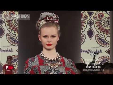"""""""LENA HOSCHEK"""" Spring Summer 2015 Berlin Fashion Week by Fashion Channel"""
