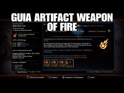 weapons of fire neverwinter