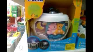 Шикарный детский ночник и проектор wiena
