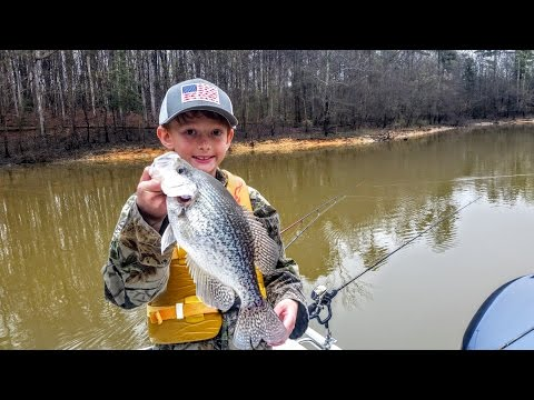 Crappie Fishing On Kerr Lake