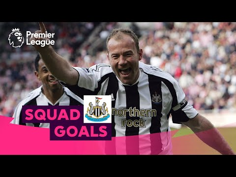 Stunning Newcastle United Goals | Shearer, Cisse, Shelvey | Squad Goals