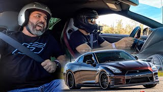 I took my Dad out Racing!