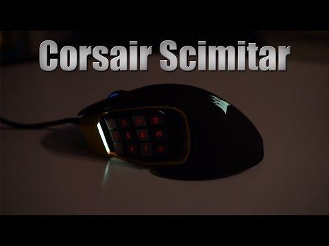 Corsair Scimitar Unboxing DK