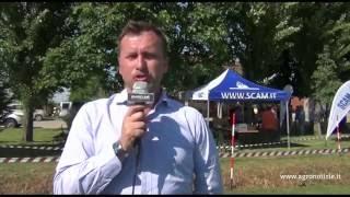 Campi vetrina cereali - Tagliavini, Scam - maggio 2016