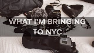 What I Packed for NYC - Fujifilm Travel Photo/Video Kit