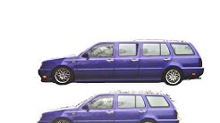 Golf 3 Variant Stretchcar