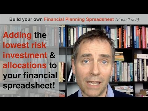 Build your own Financial Planning Spreadsheet (part 2) - adding minimal risk asset
