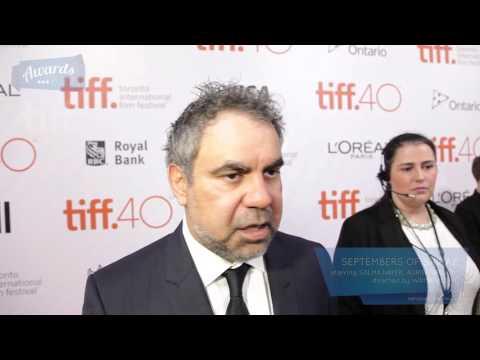 Wayne Blair Septembers of Shiraz Red Carpet (TIFF 2015)