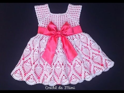 5f61f04b3 Vestido infantil em crochê (modelos para se inspirar) - YouTube