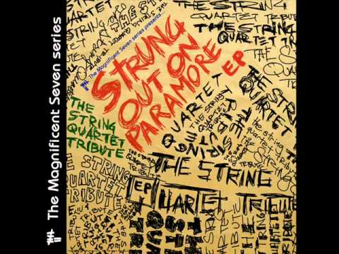 That's What You Get - Strung Out On Paramore