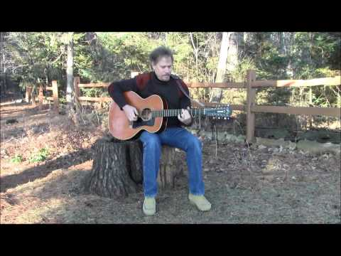 Happy Birthday original song with guitar by Douglas Wood from the woods of Minnesota-Doug .wmv