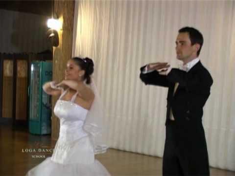 Dansul Mirilor, Wedding Dance, Funny Wedding Dance la Loga Dance School (10 Aprilie 2010)
