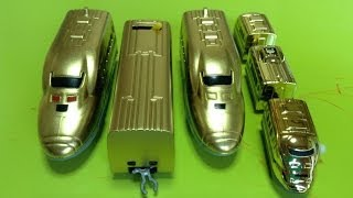 ダイソープチ電車シリーズのドクターイエローを金色に塗ってみました② thumbnail