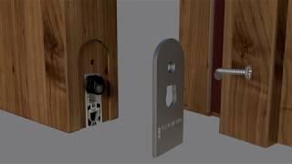Lorient LAS8001 si automatic drop seal & Finesse™ perimeter door seal