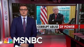 Chris Hayes On How The New Testimony Ties Trump To Ukraine Pressure | All In | MSNBC