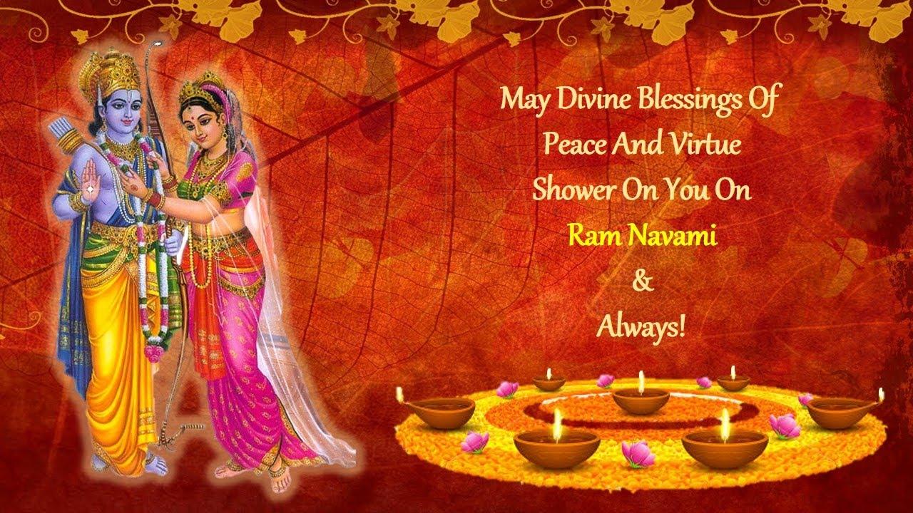 Happy Ram Navami Video Greeting  YouTube