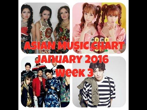 ASIAN MUSIC CHART January 2016 Week 3