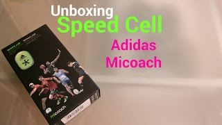 punto final Movilizar Muscular  Adidas Micoach SpeedCell Bluetooth | Unboxing - YouTube