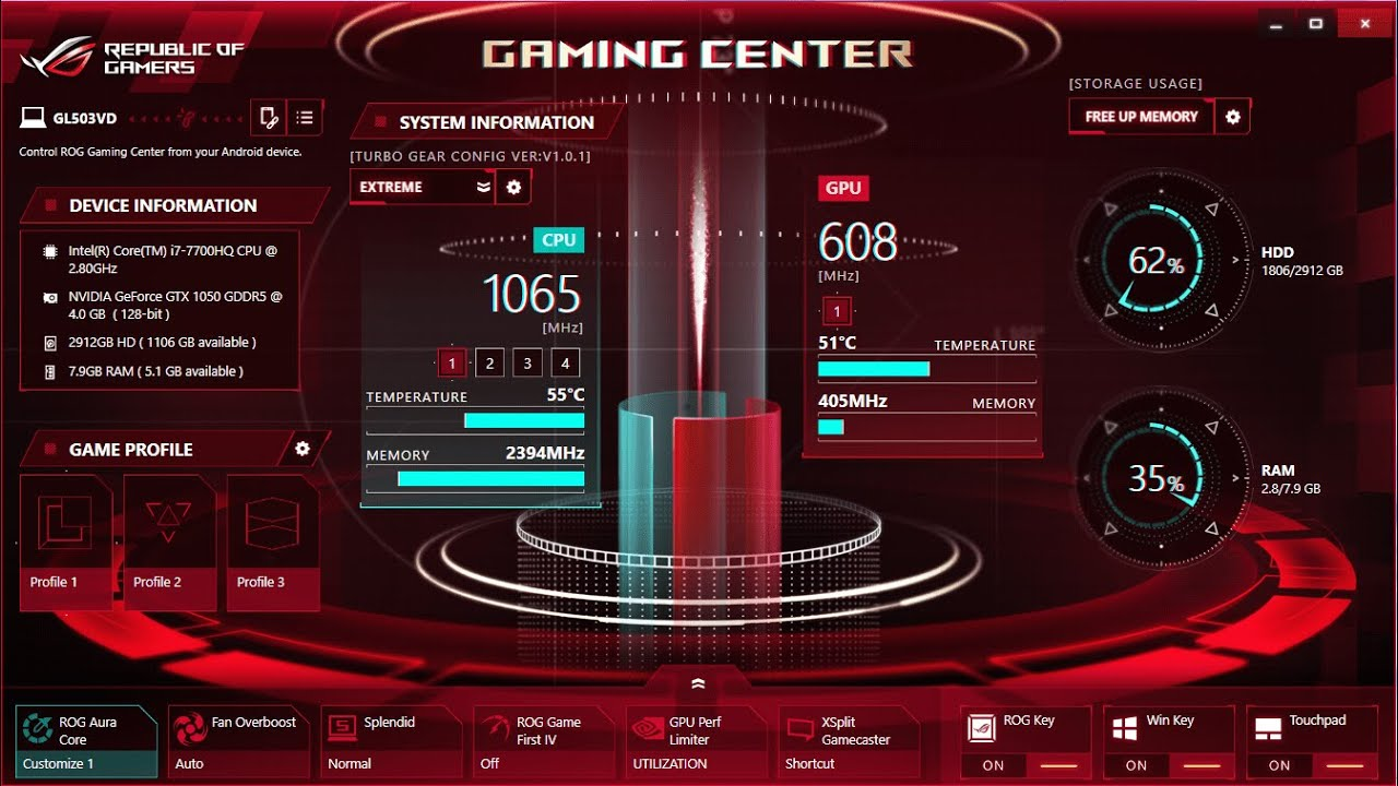How To Fix Rog Gaming Center Force Stop 2019 Youtube
