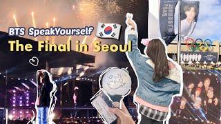 Download lagu 🇰🇷 Concert Vlog: BTS방탄소년단 SpeakYourself Final Tour in Seoul Korea Day2 !!