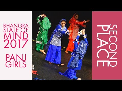 PANJ Girls - Second Place @ Bhangra State of Mind 2017