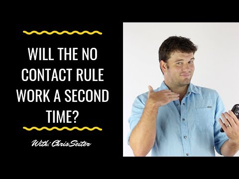 does the no contact rule work in dating