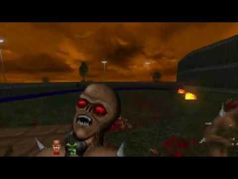 Brutal Doom v21: If ya cant beat em, throw em.