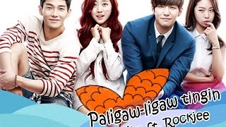 {THE MERMAID  KOREAN DRAMA ON GMA 7 SONG} Paligaw Ligaw Tingin Eurika ft  Rockjee