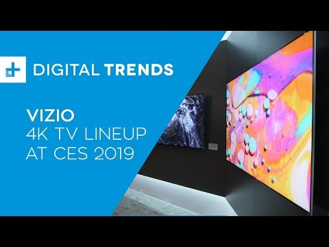 Vizio 4K TV Lineup - Hands On at CES 2019