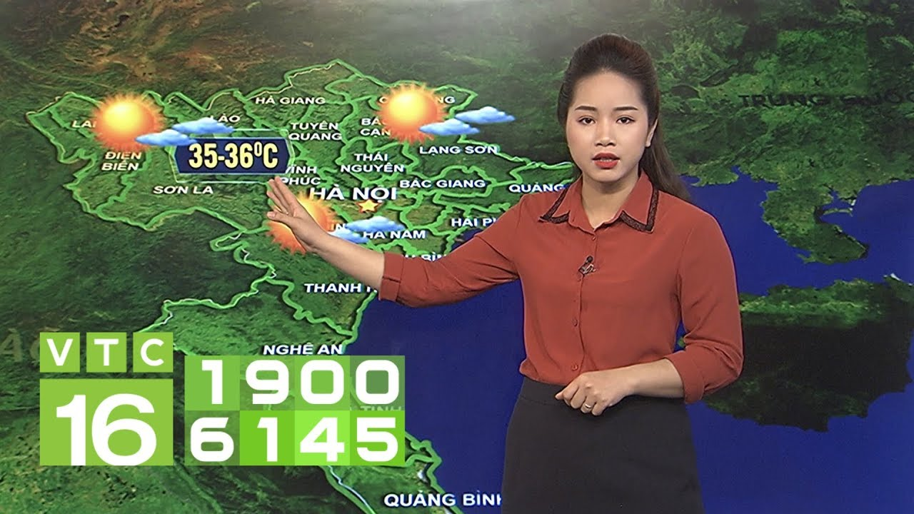 Dự báo thời tiết 08/04/2019